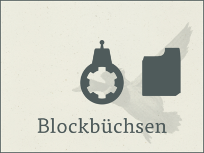 Blockbüchsen occ.